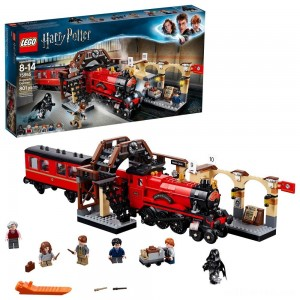 LEGO Harry Potter Hogwarts Express Train Set with Harry Potter Minifigures and Toy Bridge 75955 - Sale