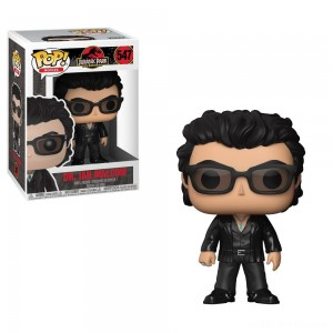 Funko POP! Movies: Jurassic Park 25th Anniversary - Dr. Ian Malcolm - Minifigure - Sale