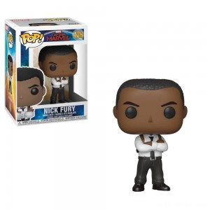 Funko POP! Marvel: Captain Marvel - Nick Fury - Sale