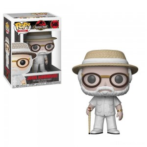 Funko POP! Movies: Jurassic Park 25th Anniversary - John Hammond - Minifigure - Sale