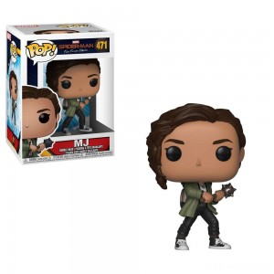 Funko POP! Marvel: Spider-Man: Far From Home - MJ - Sale
