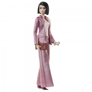 Barbie Signature Styled By Chriselle Lim Collector Doll in in Pink Pant Suit - Sale