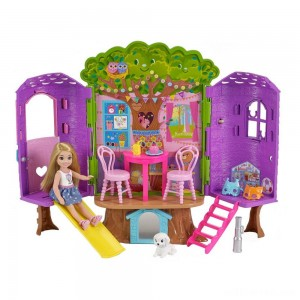 Barbie Chelsea Doll and Treehouse Playset - Sale