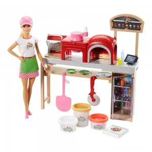 Barbie Careers Pizza Chef Doll and Playset - Sale