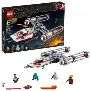 LEGO Star Wars: The Rise of Skywalker Resistance Y-Wing Starfighter 75249 New Advanced Collectible Starship Model Building Kit 578pc - Sale