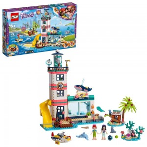 LEGO Friends Lighthouse Rescue Center 41380 Building Kit with Mini Dolls and Toy Animals 602pc - Sale