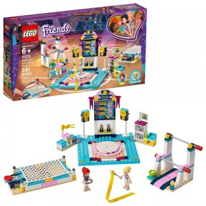 LEGO Friends Stephanie's Gymnastics Show 41372 Building Set with Gymnastics Toys 241pc - Sale