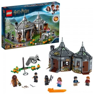 LEGO Harry Potter Hagrid's Hut: Buckbeak's Rescue Building Set with Hippogriff Figure 75947 - Sale