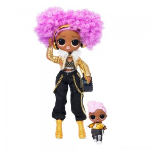L.O.L. Surprise! O.M.G. Winter Disco 24K D.J. Fashion Doll & Sister - Sale