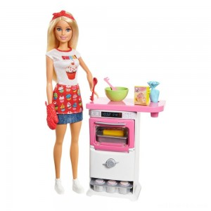 Barbie Careers Bakery Chef Doll and Playset - Sale