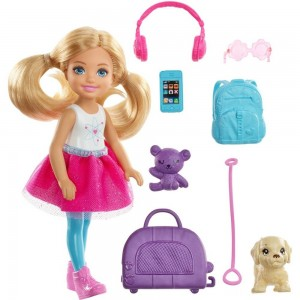 Barbie Chelsea Travel Doll - Sale