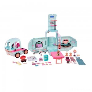 L.O.L. Surprise! 2-in-1 Glamper Fashion Camper with 55+ Surprises - Sale