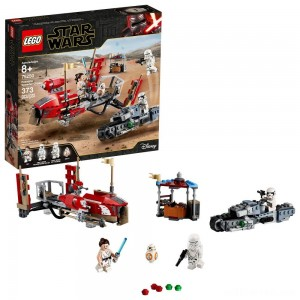 LEGO Star Wars: The Rise of Skywalker Pasaana Speeder Chase 75250 Hovering Transport Speeder Building Kit with Action Figures 373pc - Sale