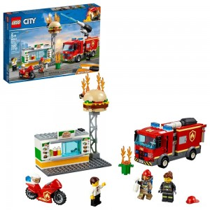 LEGO City Burger Bar Fire Rescue 60214 - Sale